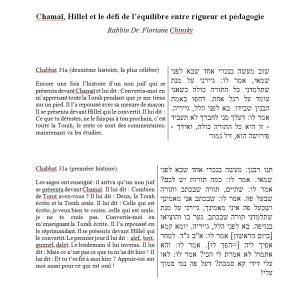 Chabbat 31a